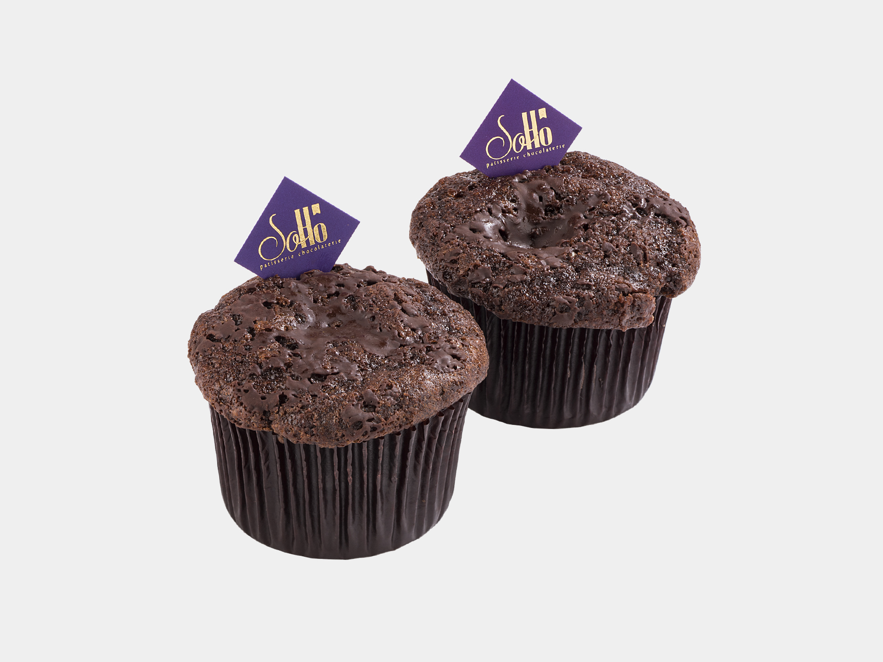 Muffin with Chocolate Pieces