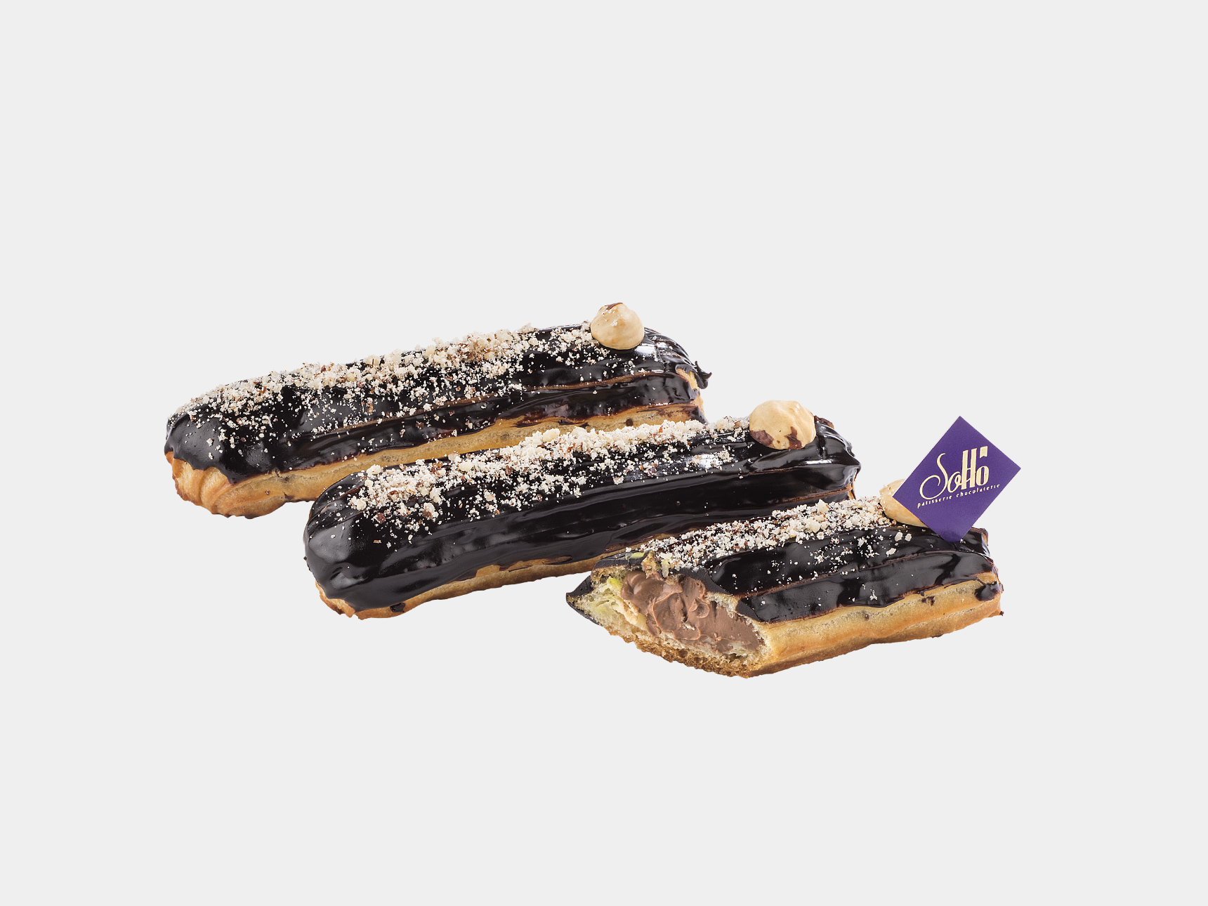 French Eclair Chocolate